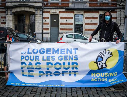 « Du logement pour les gens, pas pour le profit »